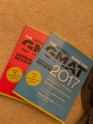 GMAT books for Sale in Newark, CA