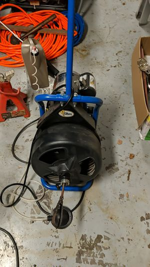 100 foot Cobra Auger (drain snake) used 1 time for Sale in Land O Lakes, FL