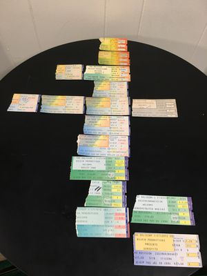 Concert ticket stubs 1982 - 1988 for Sale in Brunswick, OH