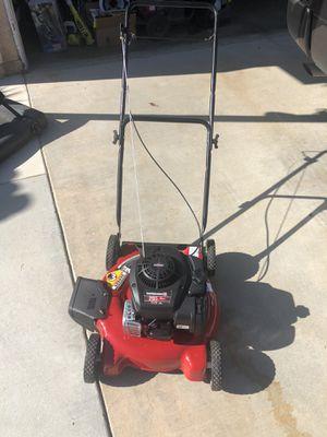 "20"" Lawn mower. Yard machines. Gas. for Sale in Corona, CA"