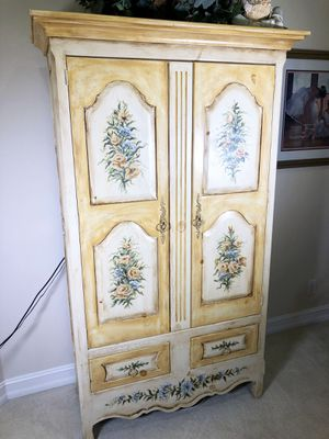 Wood Armoire- TV Stand/Storage for Sale in West Palm Beach, FL
