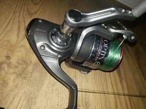 Fishing reel and rod combo for Sale in Tampa, FL