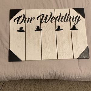 Wedding Picture Frame for Sale in Salinas, CA