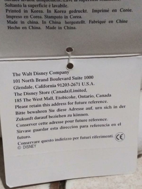 Disney 101 Dalmatians talking multiple phrases