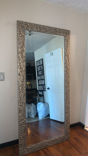 Wall mirror gold and silver for Sale in Queens, NY