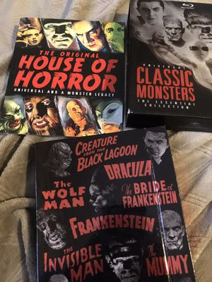 Blu-ray classic monster movies for Sale in Fresno, CA