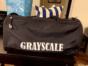 Grayscale gym bag for Sale in Vancouver, WA