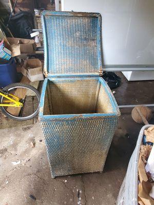 Antique Wicker Basket for Sale in Haverhill, MA
