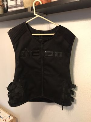Icon motorcycle vest for Sale in Rancho Cucamonga, CA
