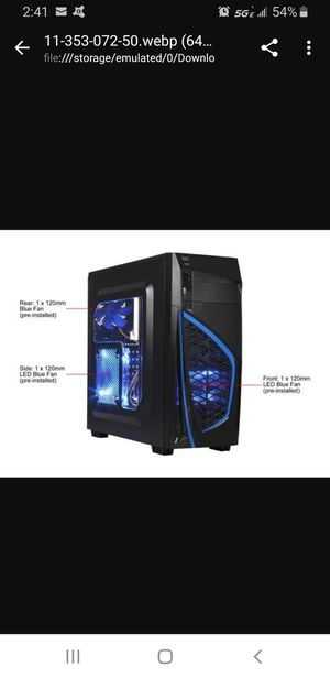 Computer case for Sale in Austin, TX