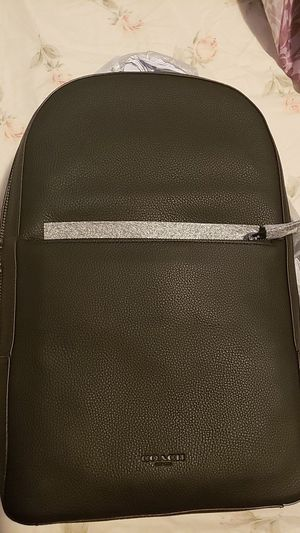 Mens black COACH backpack for Sale in Brooklyn, NY