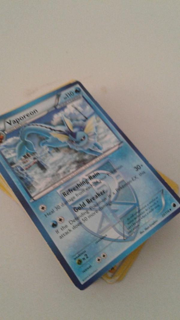 Random deck of pokemon cards. Garrenteed EX inside.
