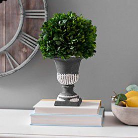 """SALE Large 17"""" Tall Boxwood Topiary Dark Gray Urn for Sale in Lexington, KY"""