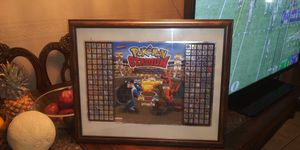 Limited edition pokemon stadium master team poster for Sale in Las Vegas, NV