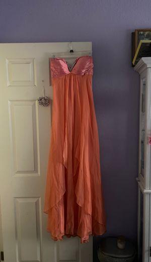 Peach prom dress for Sale in Yorba Linda, CA