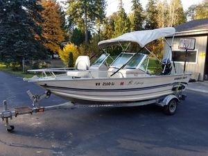1999 Smoker Craft osprey aluminum 16f for Sale in Snohomish, WA