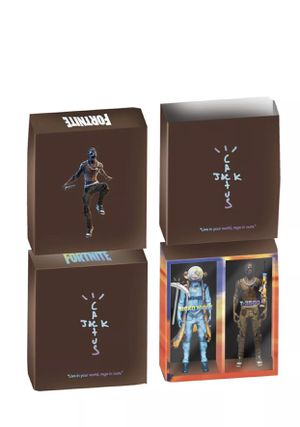 """Limited🔥CACTUS JACK Travis Scott FORTNITE 12"""" ACTION FIGURE CONFIRMED In Hand for Sale in Parma, OH"""