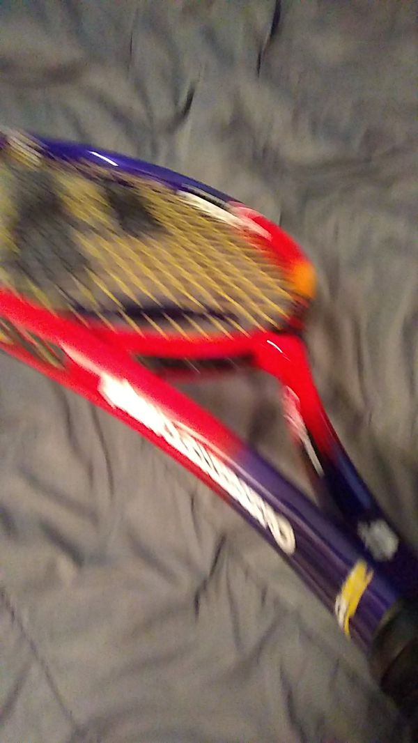 Prince, longbody 107 synergy react tennis racket