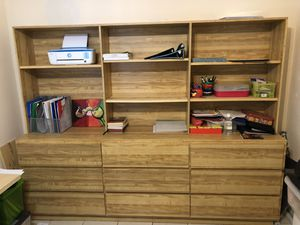Bookshelves with drawers for Sale in Miami, FL