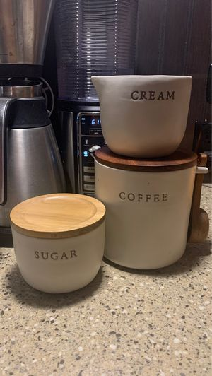 Hearth and hand with magnolia coffee set for Sale in Victoria, TX