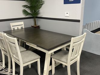 6-Pc Extended Dining Table Set On Sale🔥 for Sale in Fresno,  CA
