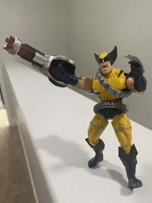 "X-Men Classics Wolverine 5"" Figure w/ Plasma Weapon Toy Biz 1996 for Sale in Fayetteville, NC"