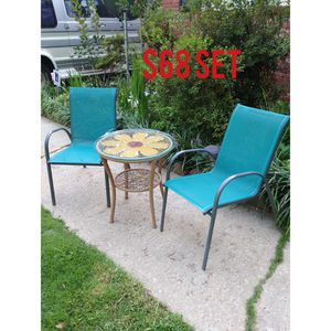 3 piece patio set for Sale in Stone Mountain, GA