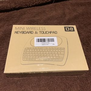 Mini Wireless Keyboard with Touchpad Mouse for Sale in Kent, WA