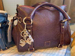 Dooney and Bourke small PLUM Florentine satchel HTW color for Sale in Livonia, MI