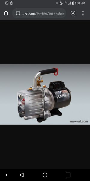 Jb industries vacuum pump for Sale in Henderson, KY
