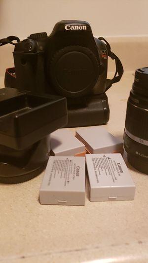 T2i Canon Camera Bundle for Sale in Milford, DE