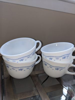 Pyrex corning ware cups for Sale in Mount Vernon, NY