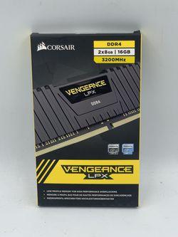 CORSAIR - Vengeance LPX 16GB (2PK x 8GB) 3200 DDR4 DRAM Desktop Memory Kit for Sale in Lynnwood,  WA