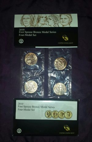 2010 First Spouse 4 Bronze Medal US Mint for Sale in Antioch, CA
