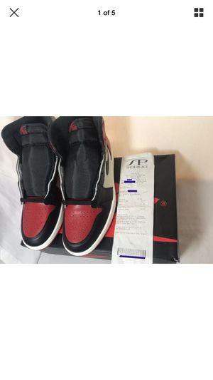 "Nike Air Jordan 1 ""Bred Toe"" 2018 Deadstock Size 10 for Sale in North Miami, FL"