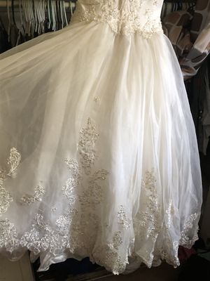Quinceanera dress size 10 used condition for Sale in Fresno, CA
