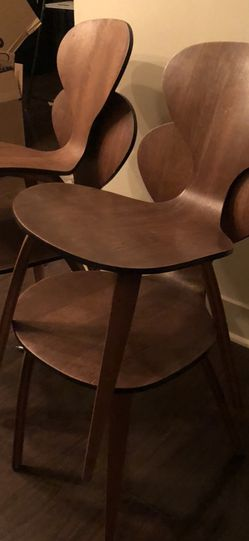 Mid century 1960s Vintage Norman Cherner Chairs for Plycraft- 4 Pairs for Sale in South Pasadena,  CA