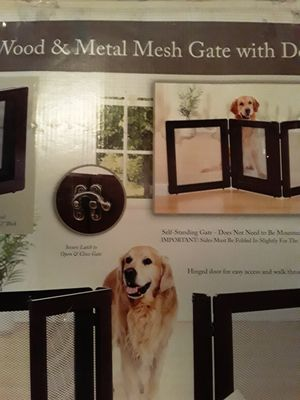 Pet Gate. Never used for Sale in Dallas, TX