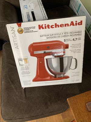 KitchenAid artisan mixer for Sale in Enfield, CT