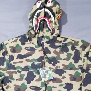 BAPE 1st Camo Jacket Shark Hoody Green for Sale in Chicago, IL