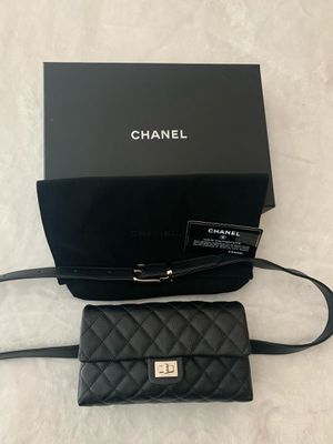 Chanel Grained Calfskin Leather Quilted 2.55 Reissue for Sale in Fremont, CA