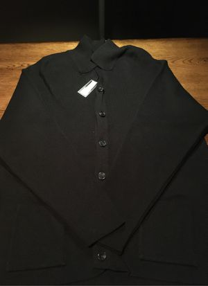 Raffi men's black button down cardigan for Sale in Medina, OH