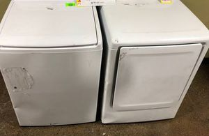 Samsung Top Load Washer and Electric Dryer Set‼️ L4X for Sale in Webster, TX
