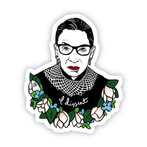 Ruth bader decal sticker for Sale in Columbia, MO