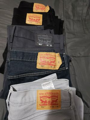 5 Levi's jeans for Sale in Aurora, CO