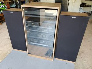 Sony Stereo System HST-190, SS-U230 Speakers, Marantz CD40A Compact Disc Player, Turntable a PS-LX-29 for Sale in Duluth, GA