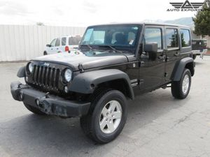 2014 Jeep Wrangler Unlimited for Sale in West Valley City, UT