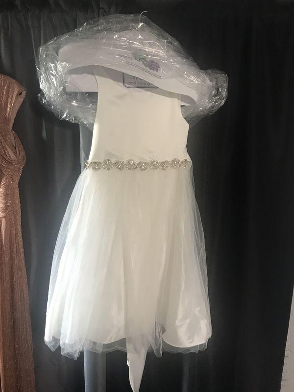 Beautiful Girl Dress baptism evening wedding quince formal dress kid