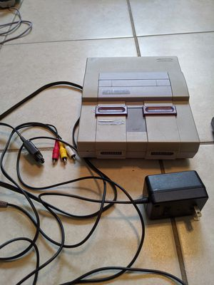 Super Nintendo SNES console works perfectly for Sale in Miami, FL