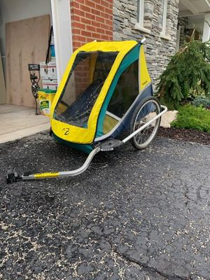 TREK bike trailer for two for Sale in Arlington Heights, IL